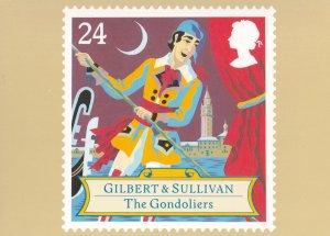 Gilbert & Sullivan The Gondoliers Limited Edition Opera Postcard