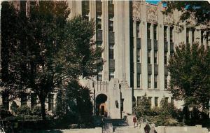 Omaha Nebraska~Creighton University~College Students on Steps~1950s