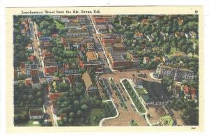 Lockerman street from the Air, Dover, Delaware,30-40s