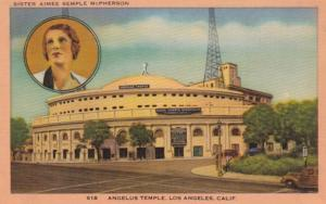 California Los Angeles The Angelus Temple Sister Aimee Semple McPherson