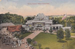 WILLOW GROVE PARK , Pennsylvania , 1912 ; Racing Coaster
