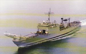 U S S La Moure County LST-1194 Tank Landing Ship