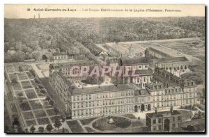 Old Postcard Saint Germain en Laye Les Loges Establishment of the Legion of H...
