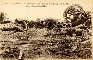 France - Avion. After the War, Ruins of the Pit-Coal
