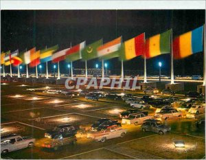 Postcard Modern Cotonou Republic of Dahomey Square Independence Boulevard Sea...
