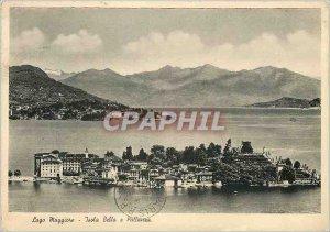 Modern Postcard Isola Bella Lago Maggiore e Pallanza