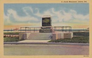 Delaware Lewes Dutch Monument