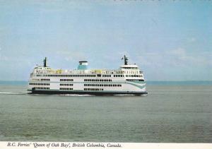 British Columbia Ferry,  M.V. Queen of Oak Bay, Victoria, British Columbia,...