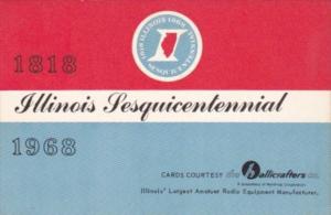 Illinois Sesquicentennial 1818 - 1968