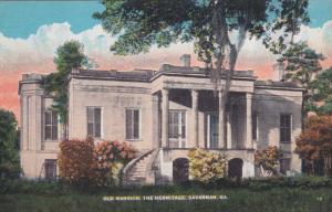 SAVANNAH, Georgia; Old Mansion, The Hermitage, 00-10s