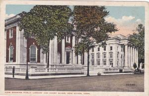 Public Library , New Haven , Connecticut , PU-1919