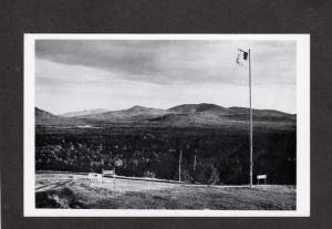ME Sugarloaf Mountain Ridge Farm Eustis Maine Postcard Real Photo RPPC Stratton