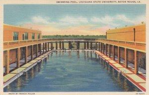 BATON ROUGE, Louisiana, 1930-40s; Swimming Pool, Louisiana State University