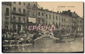 Old Postcard This Jousting