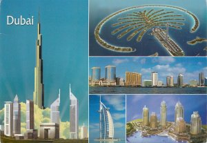 United Arab Emirates Dubai multiview Postcard