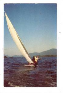 Sailing on beautiful Lake George, New York, 00-10s