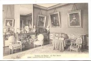Interior, Chateau de Coppet, Vaud, Switzerland, 00-10s  Le Petit Salon #2