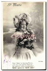 Former Surname Marie Enfant Postcard