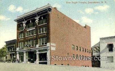 New Eagle Temple Jamestown NY Unused