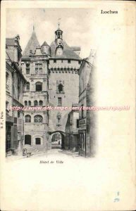 Loches - Hotel de Ville - Old Postcard
