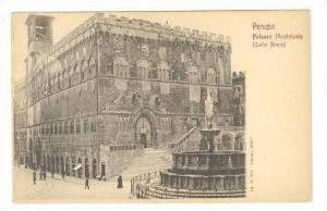 PERUGIA, Italy, Pre 1905, Palazzo Municipale