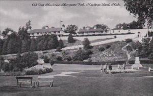 Michigan Mackinac Island Old Fort Mackinac Marquette Park