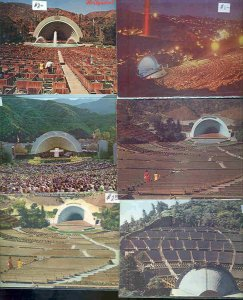 pc8859 postcard Hollywood Bowl CA ELEVEN 2 used 8 not