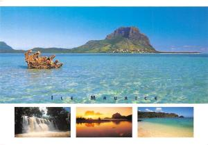 Mauritius Ile Maurice Le Morne, Waterfall Beach Plage Cascade