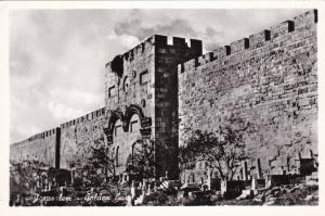 RP, JERUSALEM, Israel, 1920-1940s; Golden Gate
