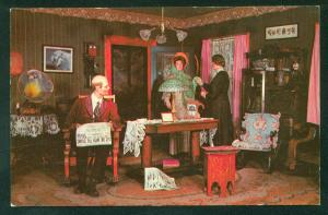 Living Room of 1912 Museum of Science and Industry Chicago IL Vintage Postcard