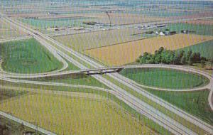 Ohio Turnpike Interchange #5 1963