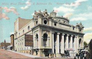 KANSAS CITY , Missouri, 1900-10s ; Willis Wood Theatre #2