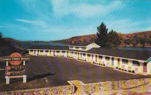 New Hampshire Alton Bay Sandy Point Beach Motel
