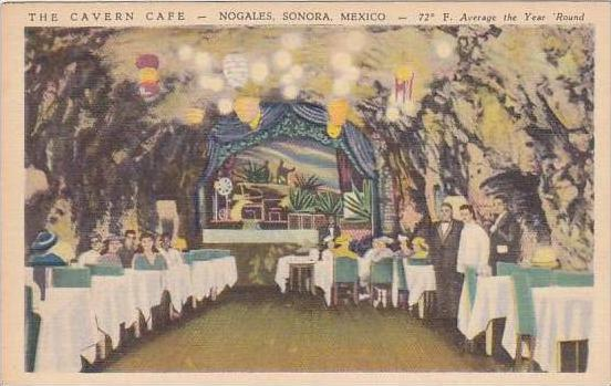 Mexico Nogales Sonora Cavern Cafe