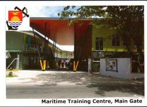 Kiribati Marine Training Centre  -  ENTRANCE TO THE CENTRE