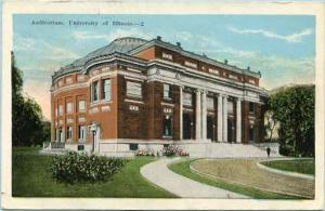IL - Champaign. University of Illinois, Auditorium