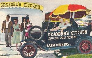 MIAMI BEACH, Florida , 1930-40s ; Grandma's Kitchen Restaurant #2