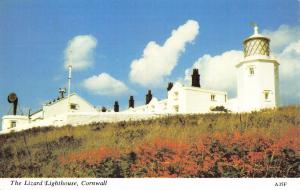 Vintage Postcard CORNWALL The Lizard Lighthouse by H. Barton #A35F
