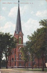 New York Cortland Baptist Church 1909