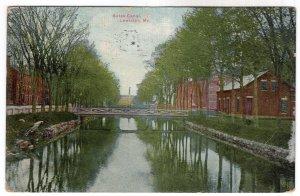 Lewiston, Me, Bates Canal