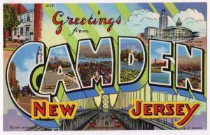 Large Letter, CAMDEN NJ