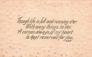 Though Life is Full Greetings BIN