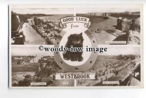 tq0071 - Kent - Multiview x 4 & Cat, Various Views around Westbrook - Postcard