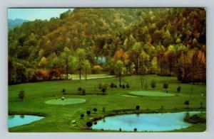 Paintsville KY-Kentucky, 12th & 15th Greens, Golf Course, Chrome Postcard
