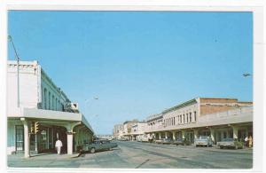 East Broadway Columbia Missouri postcard