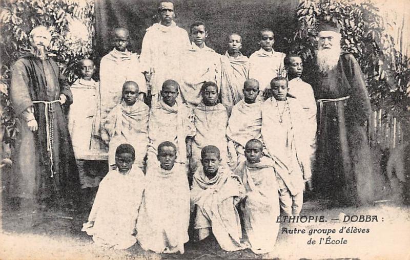 Ethiopia Dobba, Autre Groupe d'eleves de l'Ecole, Groupe, Natives, School