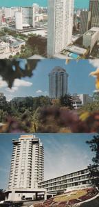 The Prince Hotel Sheraton Centre 3x Canada Postcard