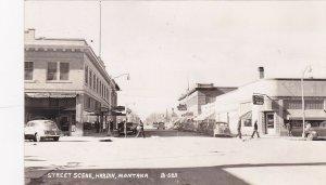 RP; HARDIN , Montana , 30-40s ; Main Street