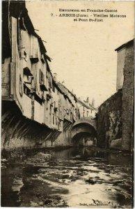 CPA Arbois- Vieilles Maisons et Pont St Just FRANCE (1043265)