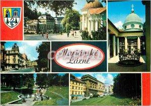 Postcard Modern Marianske Lazne Kino Kavama Alexandria